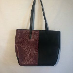 ANTONIO MELANI leather purse 2 patterns in one.